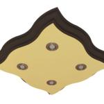Kwadrat falowany 4 x 89 cm x 7,5 cm